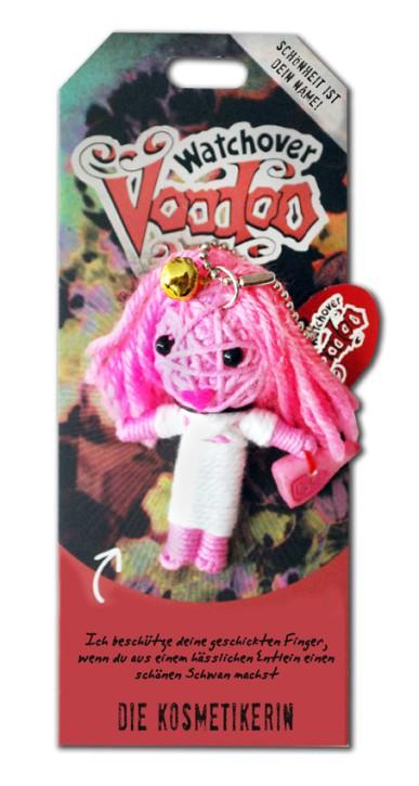 Watchover Voodoo Sammel Puppe mit Spruch Die Kosmetikerin