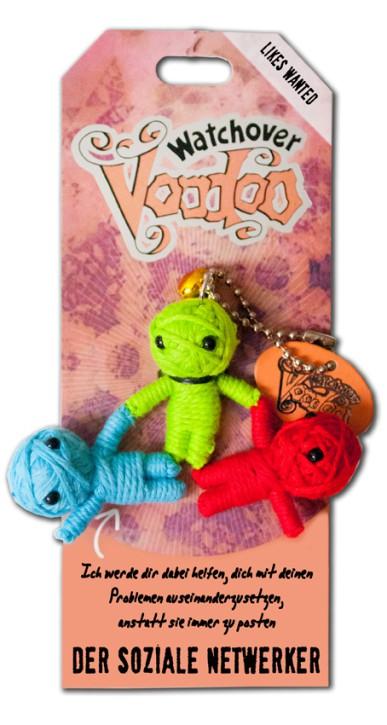 Watchover Voodoo Sammel Puppe Spruch Der soziale Netzwerker