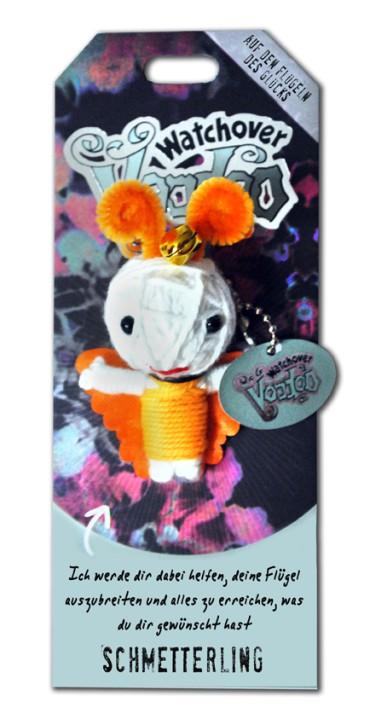 Watchover Voodoo Sammel Puppe mit Spruch Schmetterling