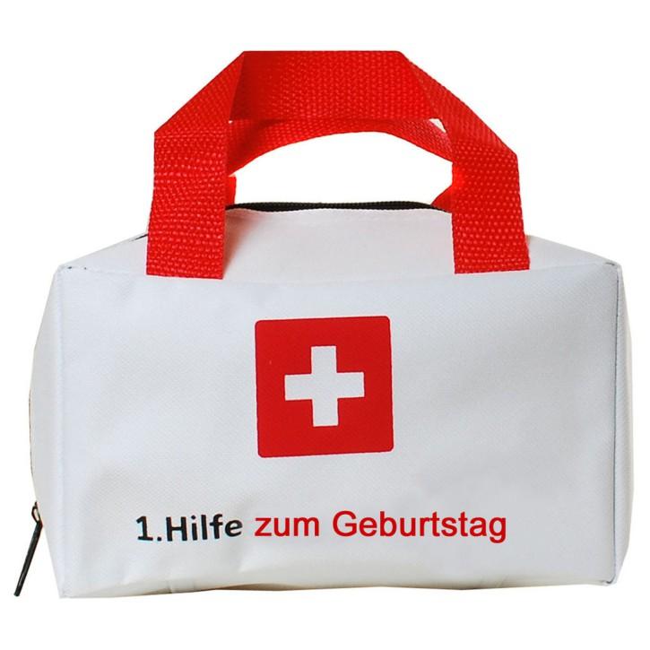 """Tasche """"1. Hilfe zum Geburtstag"""" Geschenk zum Geburtstag"""