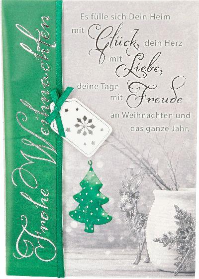 Emotions Weihnachtsklappkarte 042 für Geldgeschenke 1 Karte