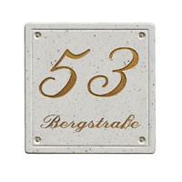 Schild Hausnummer 431