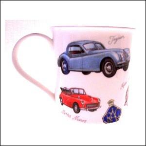 Kaffee tasse Motiv Autos