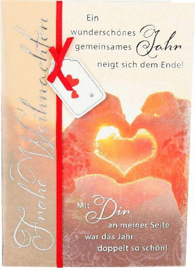 Emotions Weihnachtsklappkarte 028 für Geldgeschenke 1 Karte