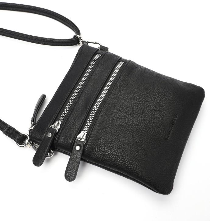 EMILY & NOAH Damentaschen Handtaschen Shopper kleine Umhängetasche Emma black 19x16x2cm