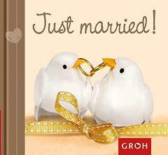 GROH Buch Just married Glückwünsche zur Hochzeit
