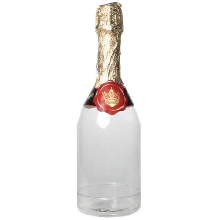 Sekt-Flasche zum Befüllen mit Aufkleber zum 18. Geburtstag