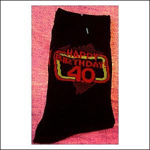 Socken mit Spruch 40