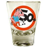 Schnapsglas 50 Jahre