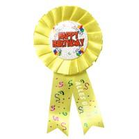 Rosette zum Geburtstag