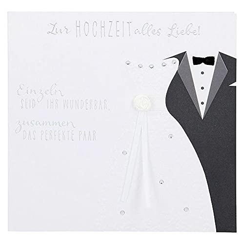 Glamour Glitzer Grußkarte Klappkarte mit Umschlag Herzlichen Glückwunsch Heute sollen die.  ,quadratisch 055