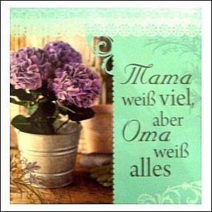 Geschirrtücher  mit Spruch Oma