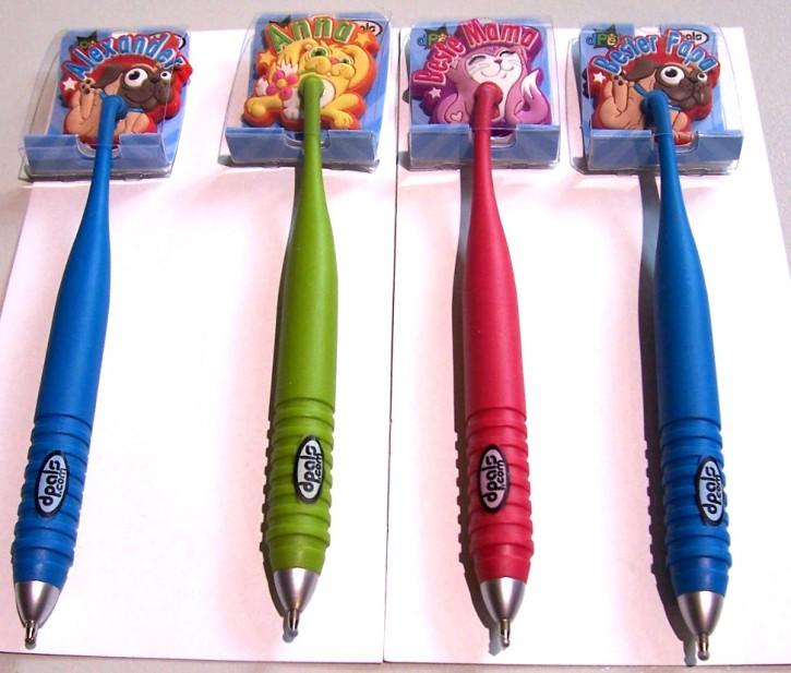 Magnetische Namens-Stifte Kugelschreiber Ich bin ein Star