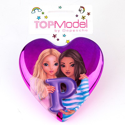 Top Model Klapp Haarbuersten mit Buchstabe P