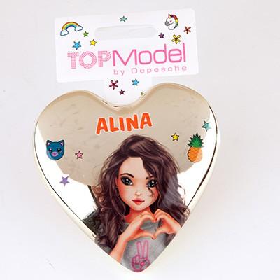 Top Model Klapp Haarbuersten mit Namen Alina