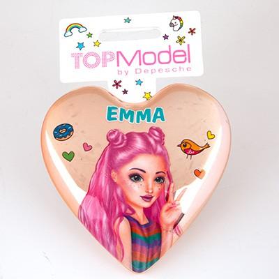 Top Model Klapp Haarbuersten mit Namen Emma