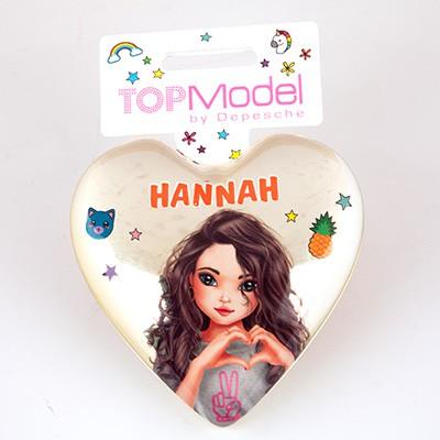 Top Model Klapp Haarbuersten mit Namen Hannah