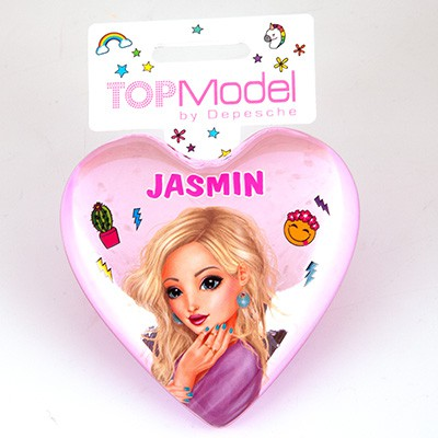 Top Model Klapp Haarbuersten mit Namen Jasmin