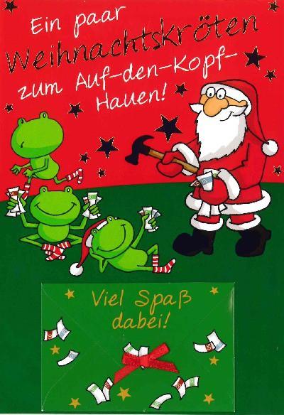 Fröhliche Weihnachtskarte als Klappkarte 8622-005