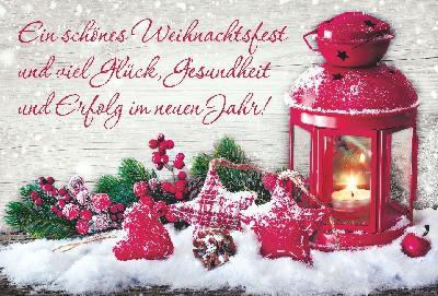 Lustige Weihnachtskarte 8634-010