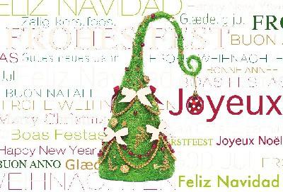Lustige Weihnachtskarte 8634-013