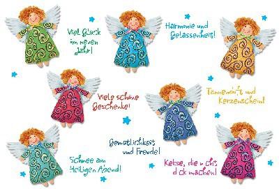 Lustige Weihnachtskarte 8634-026