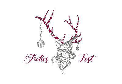 Lustige Weihnachtskarte 8634-030