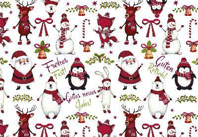 Lustige Weihnachtskarte 8634-037