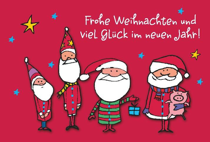 Lustige Weihnachtskarte Medi Klappkarte Weihnachten 006