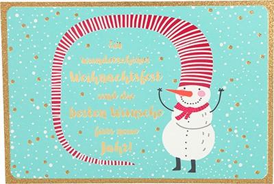 Postkarten Weihnachten X-MAS Dreams 8636-043
