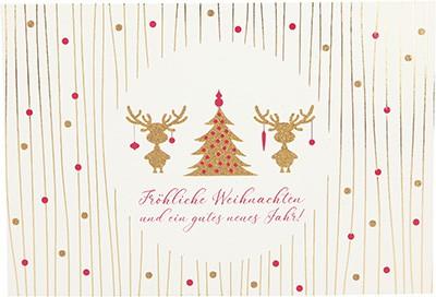 Postkarten Weihnachten X-MAS Dreams 8636-045