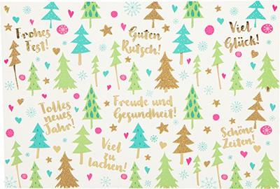 Postkarten Weihnachten X-MAS Dreams 8636-048