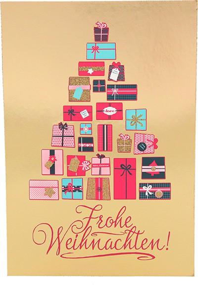 Postkarten Weihnachten X-MAS Dreams 8636-054