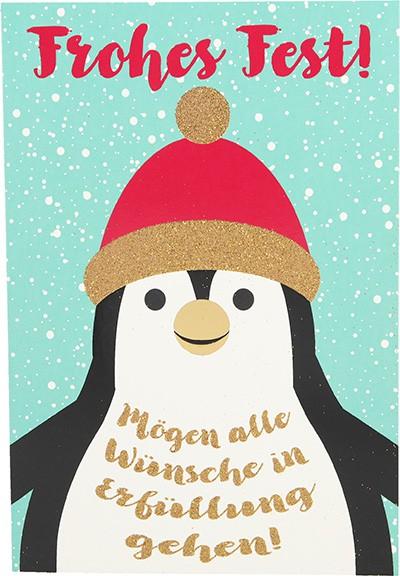 Postkarten Weihnachten X-MAS Dreams 8636-058