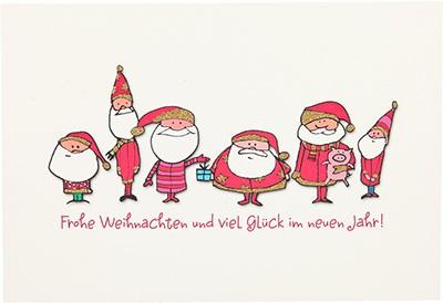 Postkarten Weihnachten X-MAS Dreams 8636-059