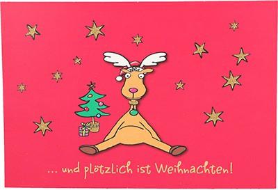 Postkarten Weihnachten X-MAS Dreams 8636-061