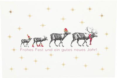 Postkarten Weihnachten X-MAS Dreams 8636-065
