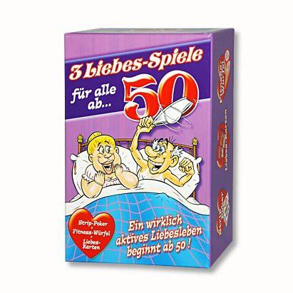 Gesellschaftsspiel Drei Liebesspiele für alle ab 50
