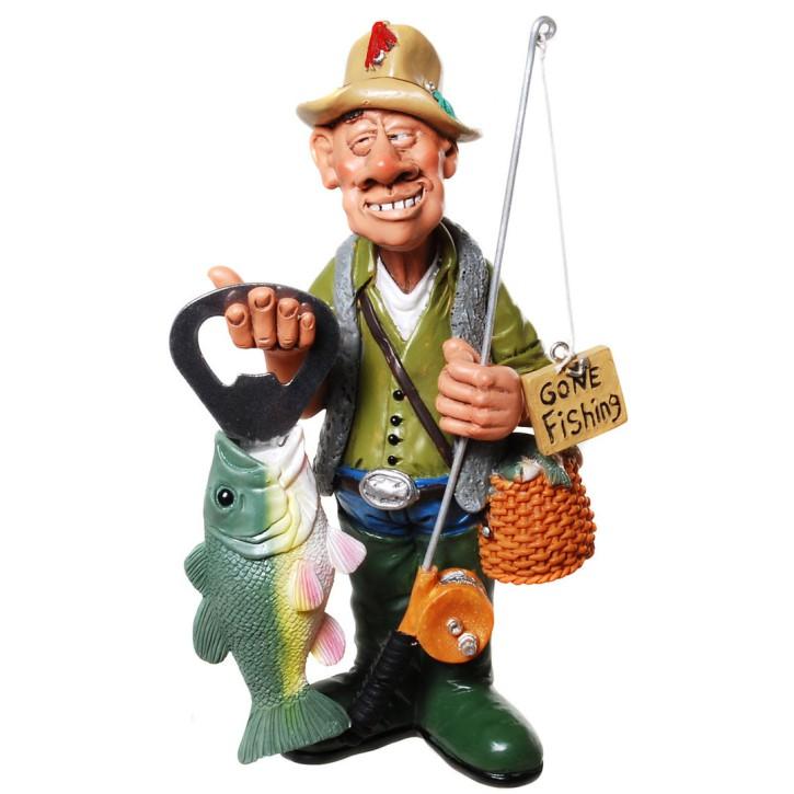 Angler Figur mit Öffner
