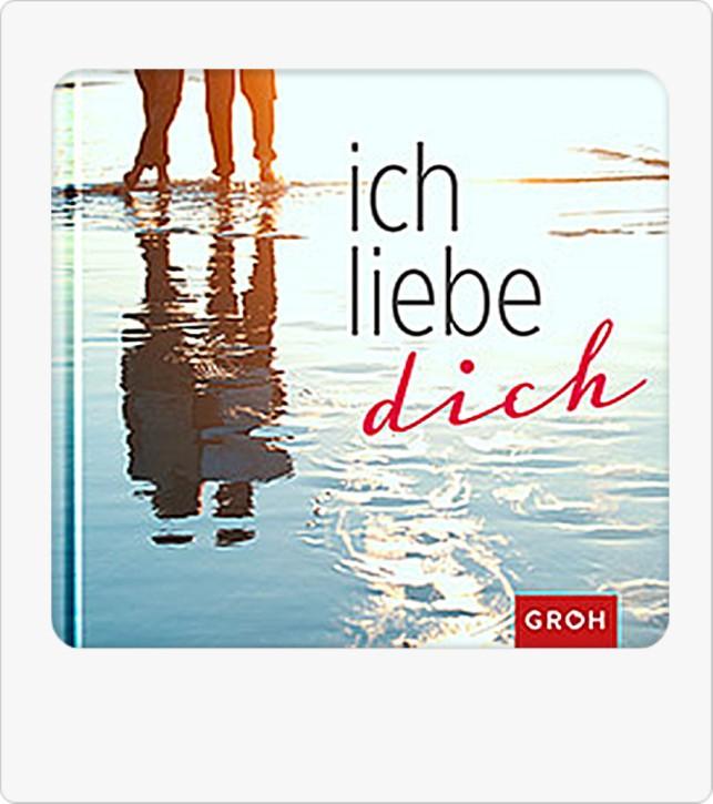 Groh Buch Ich liebe dich