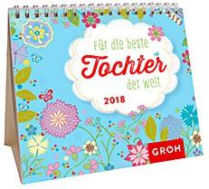 Groh Mini-Kalender 2018 zum Aufstellen beste Tochter