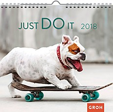 Groh Wandkalender 2018 Just do it