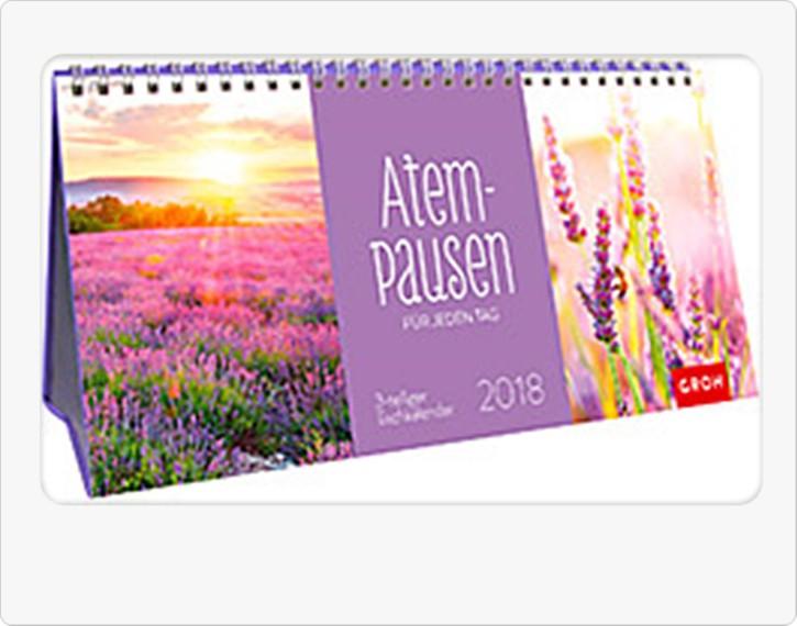 Groh Tischkalender 2018 Atempausen für jeden Tag