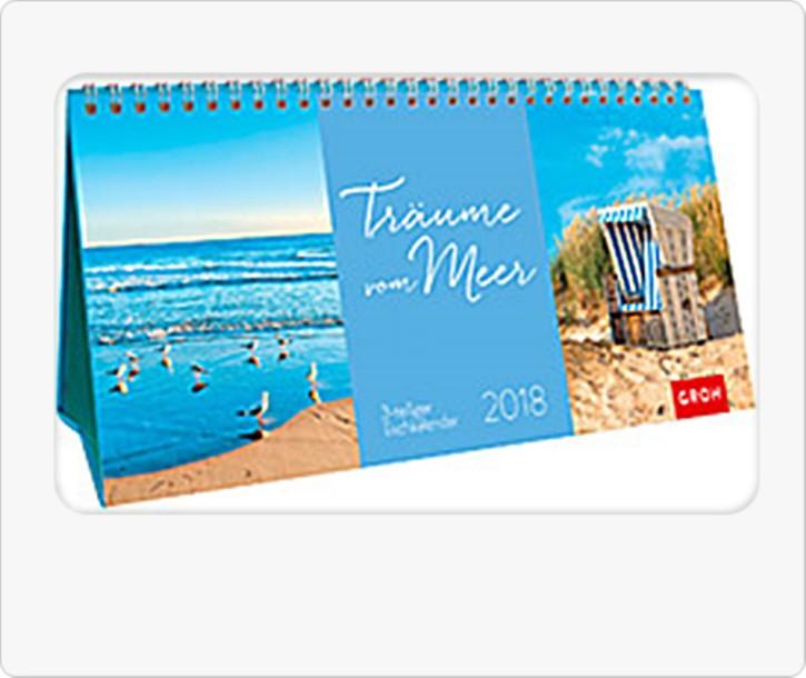 Groh Tischkalender 2018 Träume vom Meer