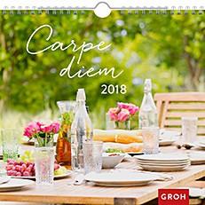 Groh Wandkalender 2018 Carpe Diem