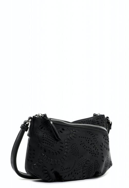 EMILY & NOAH Umhängetasche Elise 25cm black 100 Damentaschen Handtaschen Shopper