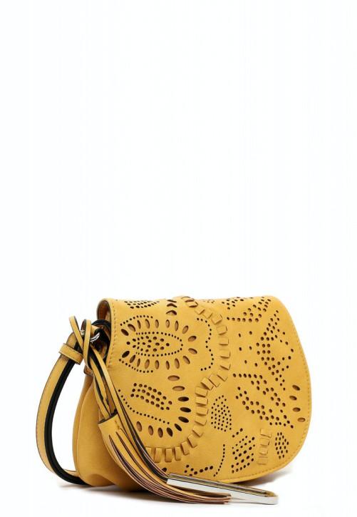 EMILY & NOAH Umhängetasche Elise yellow 460 24cm Damentaschen Handtaschen Shopper