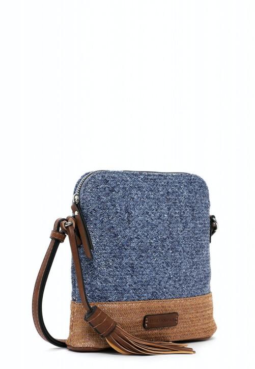 EMILY & NOAH Umhängetasche Elena blue 500 21cm Damentaschen Handtaschen Shopper