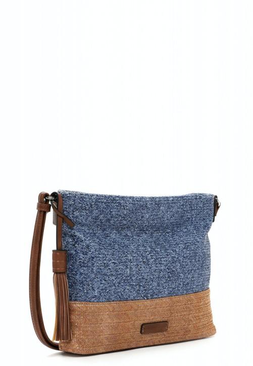 EMILY & NOAH Umhängetasche Elena blue 500 28cm Damentaschen Handtaschen Shopper