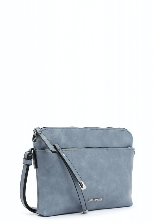 EMILY & NOAH Umhängetasche Elif 26cm sky 530 Damentaschen Handtaschen Shopper